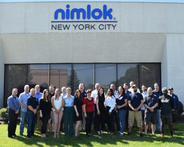 Group Shot of Nimlok NYC Team