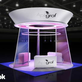 Apligraf 20x20 Custom Trade Show Booth