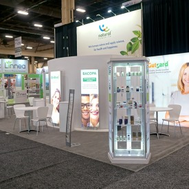 Natural Remedies Custom Trade Show Booth
