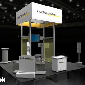 Hydratight 20x20 Custom Trade Show Booth
