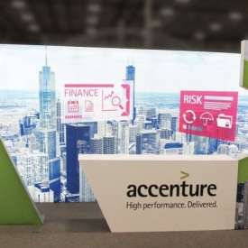 Accenture 10x20 Custom Trade Show Booth