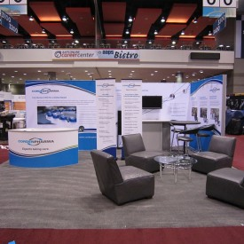 Corden Pharma 20x20 Custom Trade Show Booth