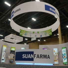 Suanfarma Custom Trade Show Booth