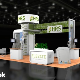 HRS Larger Custom Trade Show Booth
