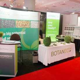 Botaneco 10x20 Custom Trade Show Booth