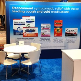 Reckitt 10x10 Custom Trade Show Booth