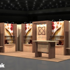 Akhassa 10x20 Custom Trade Show Booth