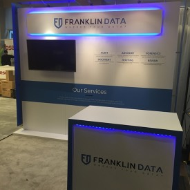Franklin Data 10x10 Custom Trade Show Booth