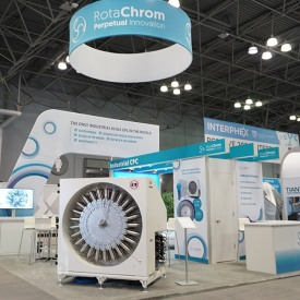 RotaChrom Custom Trade Show Booth