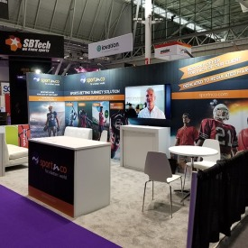 SPORTNCO 10x20 Custom Trade Show Booth