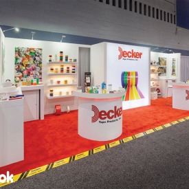 Decker Tape 10x30 Custom Trade Show Booth