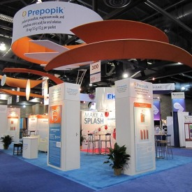 Prepopik Larger Custom Trade Show Booth
