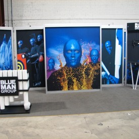 Blue Man Group 10x20 Custom Trade Show Booth