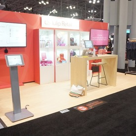 Tulip Retail 10x20 Custom Trade Show Booth