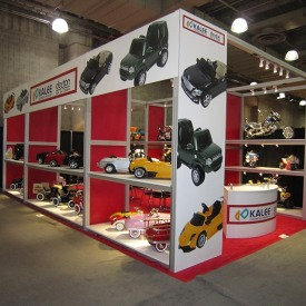 Kalee Dexton Larger Custom Trade Show Booth
