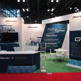 Alkermes 20x20 Custom Trade Show Booth