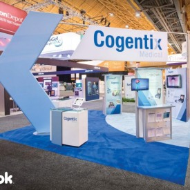 Cogentix Medical 20x20 Custom Trade Show Booth