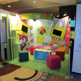 Fun by Nature 10x10 Custom Trade Show Booth