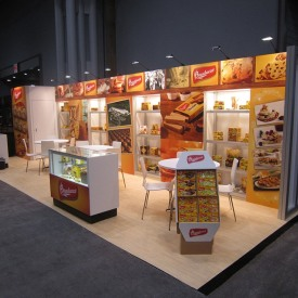 Bauducco Larger Custom Trade Show Booth