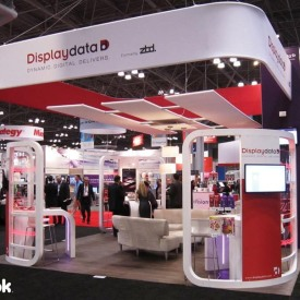Displaydata 20x20 Custom Trade Show Booth