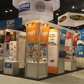 CRP Automotive Larger Custom Trade Show Booth