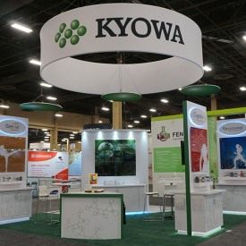 Kyowa 20x20 Custom Trade Show Booth