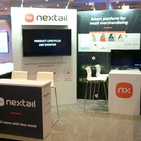 Nextail 10x10 Custom Trade Show Booth