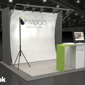 Invodo 10x10 Custom Trade Show Booth