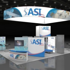 ASI Larger Custom Trade Show Booth