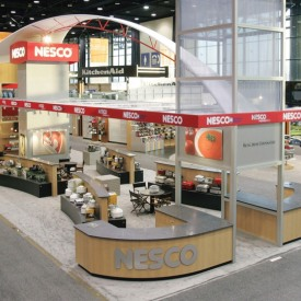 Nesco Larger Custom Trade Show Booth