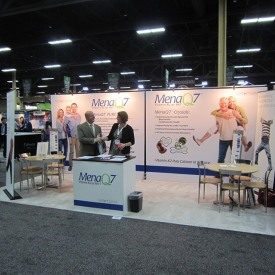 MenaQ7 10x20 Custom Trade Show Booth