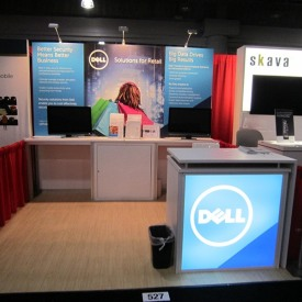 Dell 10x10 Custom Trade Show Booth