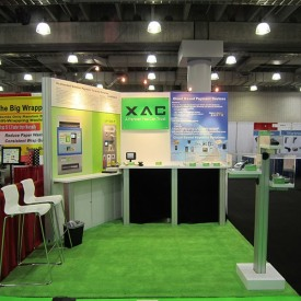 XAC 10x10 Custom Trade Show Booth