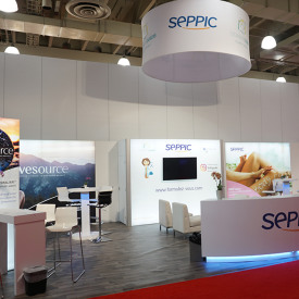 Seppic Custom Trade Show Booth