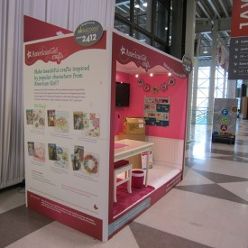 American Girl 10x10 Custom Trade Show Booth
