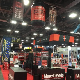 MuscleMeds Larger Custom Trade Show Booth