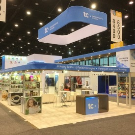TC Transcontinental Packaging Custom Trade Show Booth