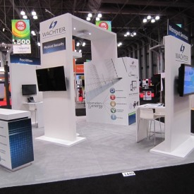Wachter 20x20 Custom Trade Show Booth