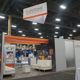 Capstone Custom Trade Show Booth