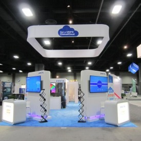 HCL Larger Custom Trade Show Booth