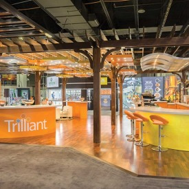 Trilliant Custom Trade Show Booth