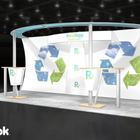 Recology 10x20 Custom Trade Show Booth