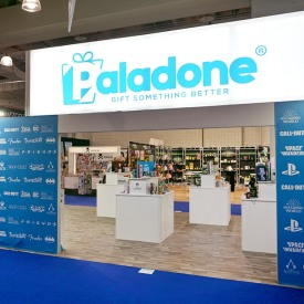 Paladone Custom Trade Show Booth