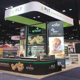 PLT Larger Custom Trade Show Booth