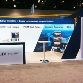Prudential 10x20 Custom Trade Show Booth