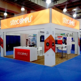 Site Compli 20x20 Custom Trade Show Booth