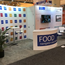 FoodNavigator-USA 10x20 Custom Trade Show Booth