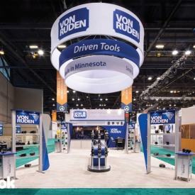 Von Ruden Larger Custom Trade Show Booth