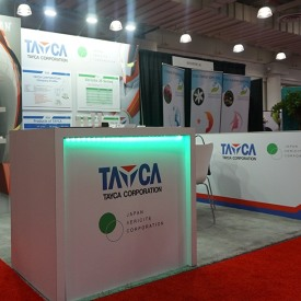 Tayca 10x10 Custom Trade Show Booth