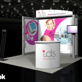 IDS 10x10 Custom Trade Show Booth